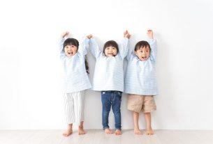 保育園の子供達