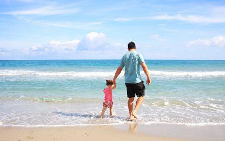 子連れでビーチ