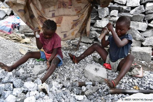 働く子供たち